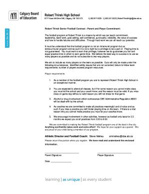 Fillable Online Robert Thirsk High School - RTHS VLC Fax