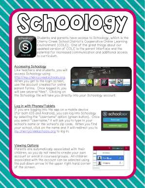 Fillable Online Schoology Liberty Middle School Fax Email Print Pdffiller