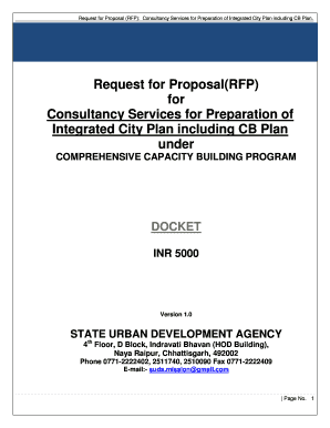 Request For Proposal(RFP) For Consultancy ...   CG UAD   CG  Commercial Proposal Template