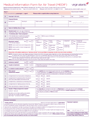 Fillable online medical information form for air travel medif rate this form thecheapjerseys Choice Image