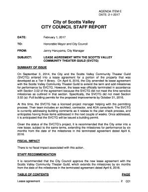 Fillable Online SR SVCTG Theater Lease Amendment Staff