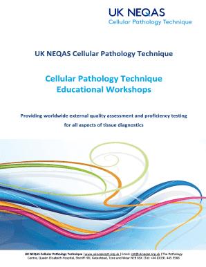 Cellular Pathology Technique