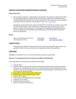 program proposal sample pdf - Fill, Print & Download Online Samples
