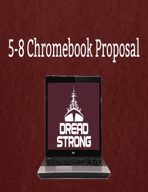 chromebook grant example - Fill, Print & Download Online