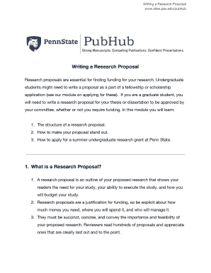 research proposal abstract example