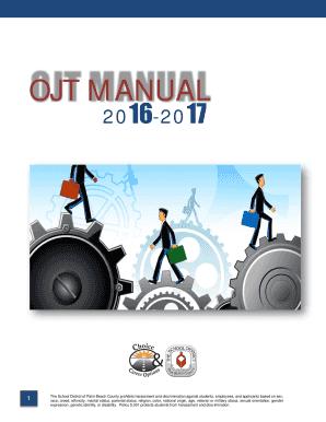fillable ojt agreement letter sample edit print download form