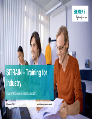 Fillable Online SITRAIN Training for Fax Email Print - PDFfiller