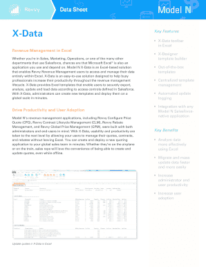 hotel revenue management excel template - Edit, Fill, Print