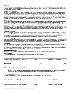 standard and associates first line supervisor test form
