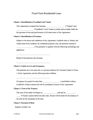 Tenancy Agreement Indesign - Fill Online, Printable, Fillable, Blank ...