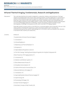 infrared thermal imaging fundamentals research and applications