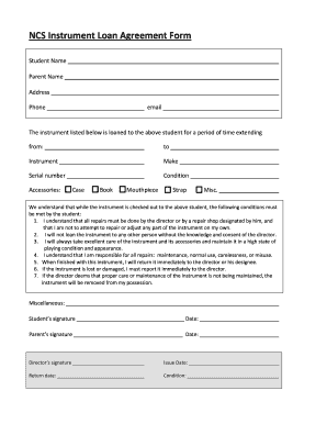 53 Printable Loan Agreement Template Forms Fillable