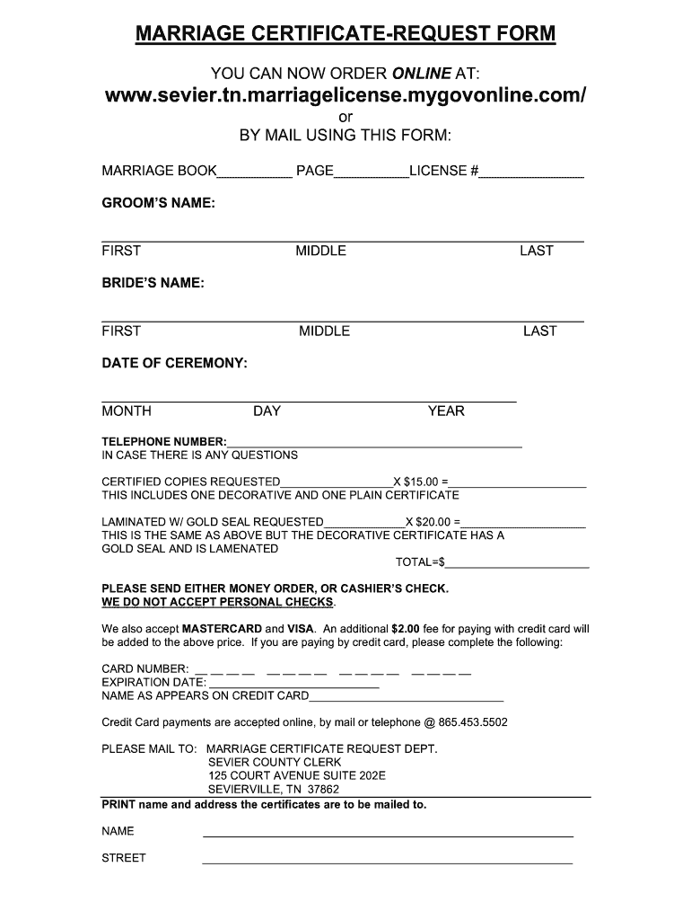 I John 127961 Blank Marriage Certificate