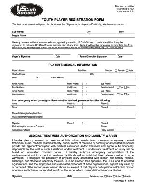 27 Printable Football Player Cv Forms And Templates