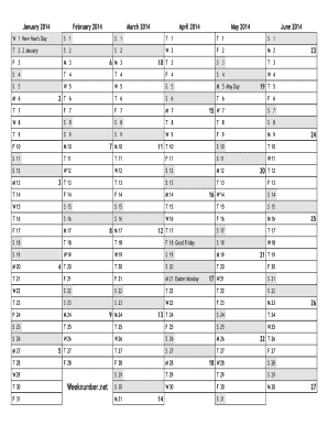 48 Printable February 2014 Calendar Forms And Templates Fillable