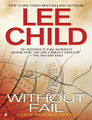 Lee Child Without Fail Epub Download Fill Online