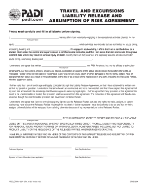 assumption of risk agreement Assumption of risk, waiver of liability, and indemnification agreement rockland county nature of the activity: go airborne, llc d/b/a bounce trampoline sports (hereafter referred to as.