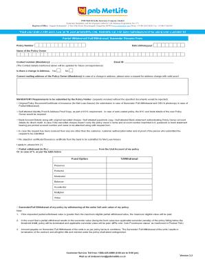 Metlife Alico Bangladesh Surrender Form - Fill Online ...