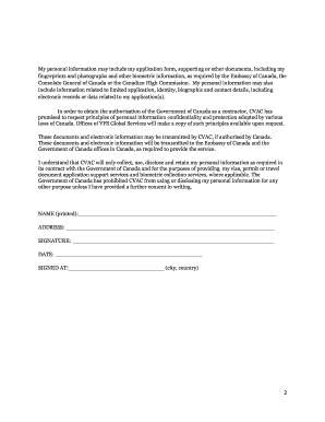 Vac Consent Forms Canada - Fill Online, Printable, Fillable, Blank ...