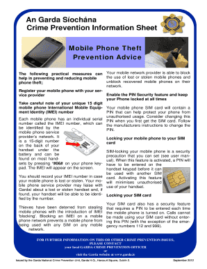 Fillable online erh noaa microsoft powerpoint vorlesung 9 april crime prevention information sheet fandeluxe Image collections
