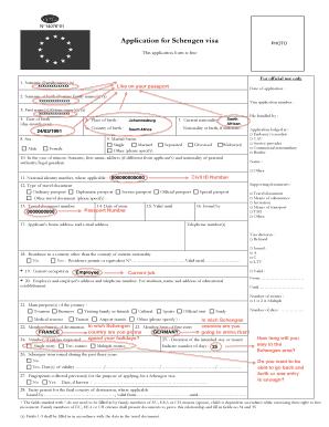 Example of a completed application form here. - Capago