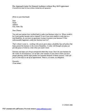 approash letter form