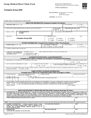 CIGNA Medical Claim Form-Scranton