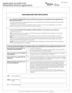 residential lease agreement free