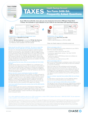 Tax Form 5498 Sa - Fill Online, Printable, Fillable, Blank | PDFfiller