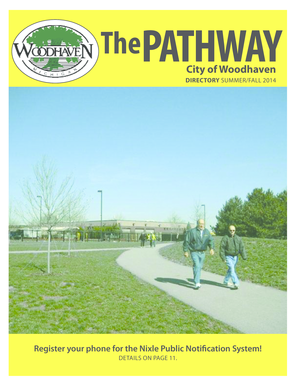 2014 Summer/Fall Brochure - the Woodhaven, MI Web Site