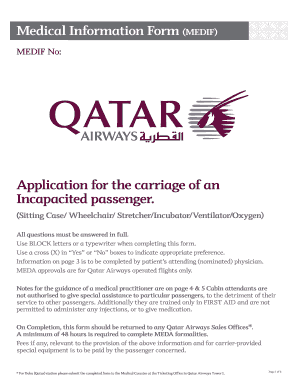 Fit To Fly Form Qatar