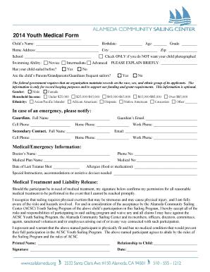 medical release form for grandparents