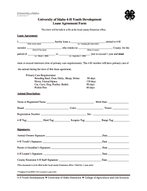 Bill Of Sale Form Idaho Commercial Lease Agreement Form