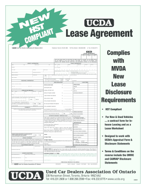 ucda lease agreement form