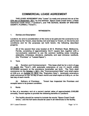 COMMERCIAL LEASE AGREEMENT THIS LEASE AGREEMENT (this &quot - eagendatoc brevardschools