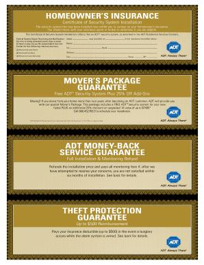 intruder alarm certificate pdf fill online printable fillable