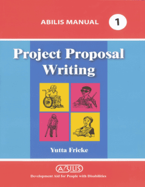 Project Proposal Writing - Abilis Foundation