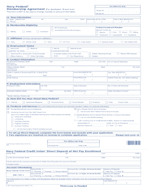 navy federal direct deposit form Navy Federal Direct Deposit Form - Fill Online, Printable ...