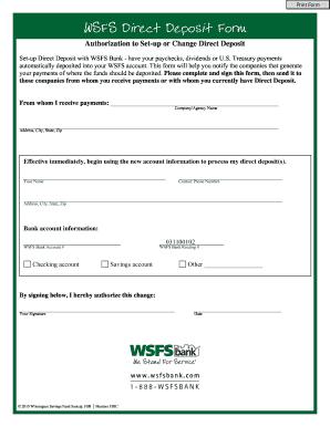 netspend direct deposit form  17 Printable printable direct deposit form Templates ...