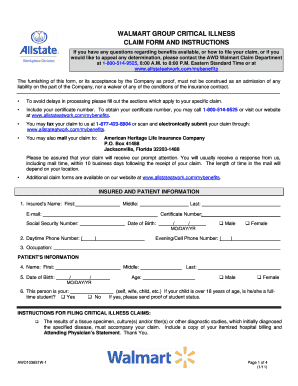 walmart application form online Templates - Fillable & Printable ...