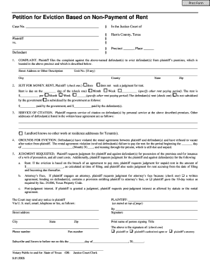 image about Printable Eviction Notice Form named 20 Printable eviction focus template texas Types - Fillable