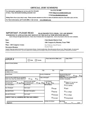 Jury Duty Lucie - Fill Online, Printable, Fillable, Blank   PDFfiller