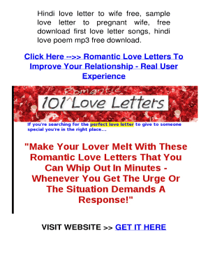 Make a love letter online for free