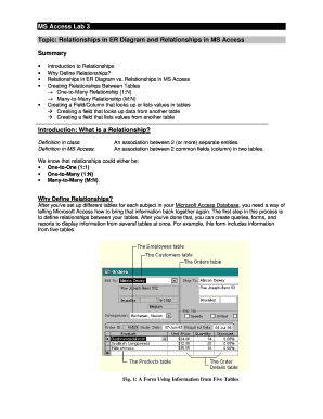 ms access employee database sample download - Edit Online, Fill Out