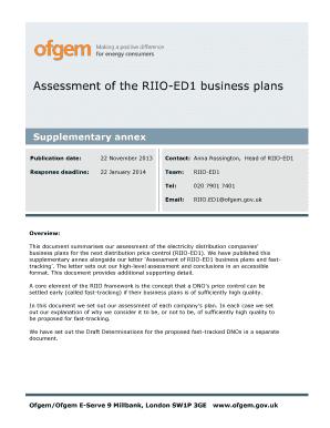 riio ed1 business plan
