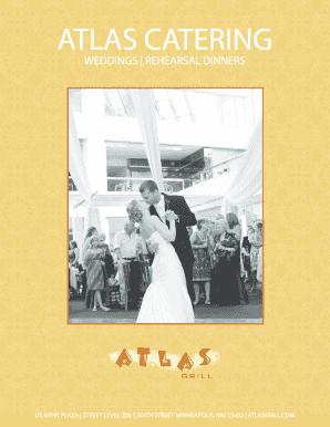 Fillable wedding website menu choice - Edit Online