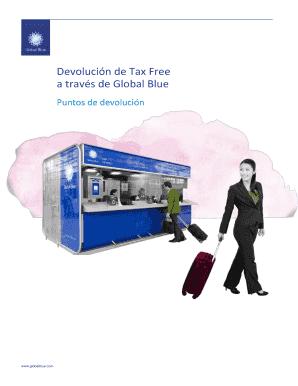 Fillable Online Devolucin de Tax Free Fax Email Print
