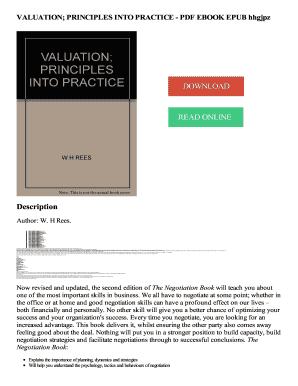 principles of property valuation pdf