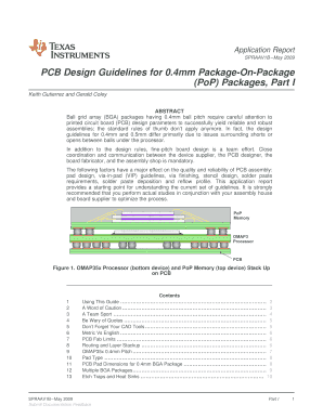 Fillable Online PCB Design Guidelines for 0 Fax Email Print - PDFfiller