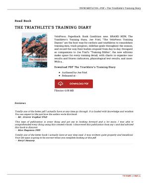 Joe Friel Mountain Bike Training Bible Pdf